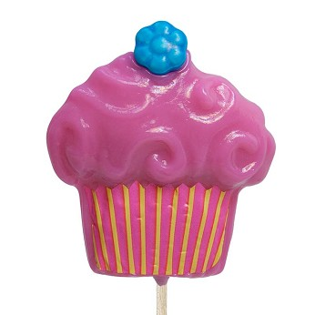 Fun Food Cupcake Lollipops</br>Pack 24