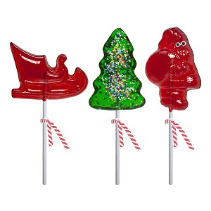 Classic Holiday Lollipop Assortment: 12 Pack