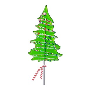Icon Nonpareil Drizzle Tree Lollipops: 12 Pack