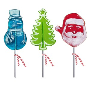 Frosted Whimsical Lollipop Assortment: 12 Pack