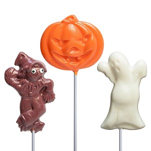 Large Halloween Lollipop Assortment: 24 Pack