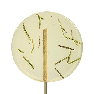 Rosemary & Lemon Natural Lollipops: 12 Pack