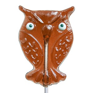 Maple Owl Lollipops: 12 Pack