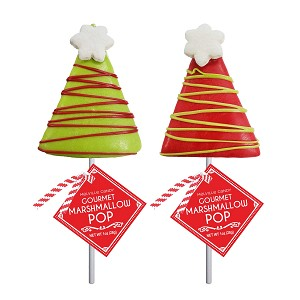 Marshmallow Triangle Trees : 12 Pack