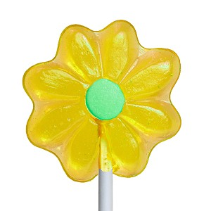Mini Daisy Lollipops: 24 Pack