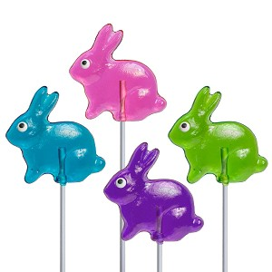 Mini Bunny Lollipops: 12 Pack