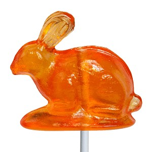Vintage Old Tyme Rabbit Lollipops: 12 Pack
