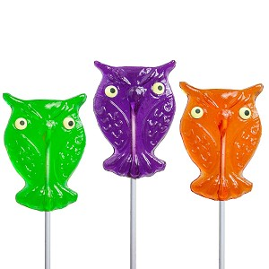 Halloween Owl Lollipops: 24 Pack