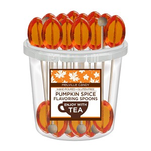 Pumpkin Spice Spoons: 50 Pack Bucket