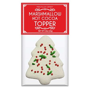 Holiday Confetti Tree Marshmallow Toppers: (12) 1 Pack Bags