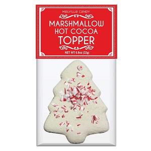 Peppermint Tree Marshmallow Toppers: (12) 1 Pack Bags