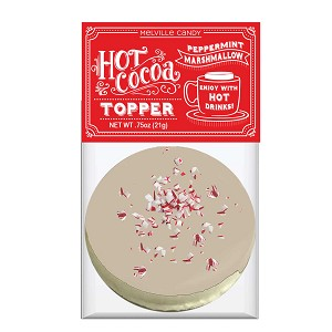 White Chocolate Peppermint Marshmallow Toppers: (12) 1 Pack Bags