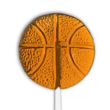 Basketball Lollipops</br>Pack 24
