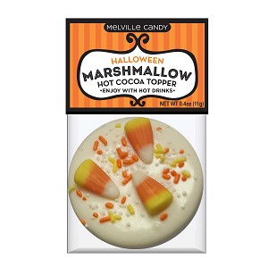 Halloween white chocolate Marshmallow Toppers: (12) 1 Pack Bags